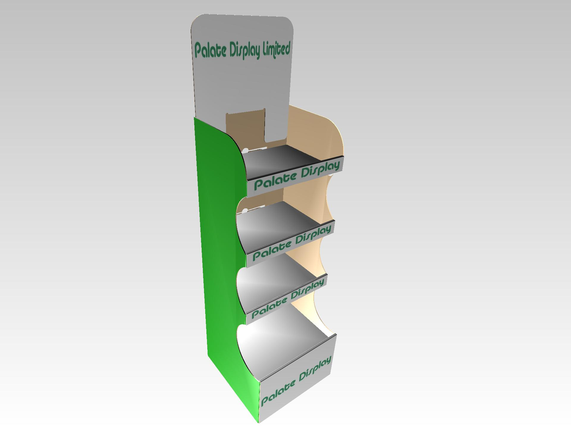Curved Display Point of Sale